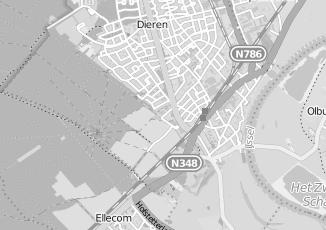 Kaartweergave van Bleijenberg in Dieren