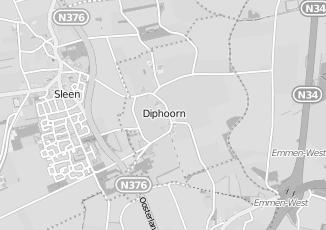 Kaartweergave van Milieustraat in Diphoorn
