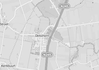 Kaartweergave van Bakker in Dirkshorn