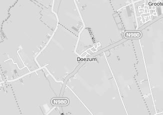 Kaartweergave van Detailhandel in Doezum