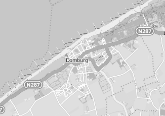 Kaartweergave van Hoonhout in Domburg