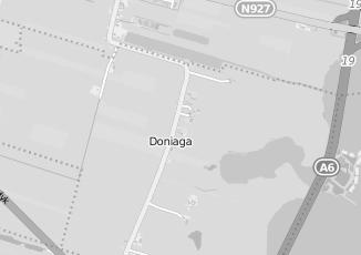 Kaartweergave van Bank in Doniaga