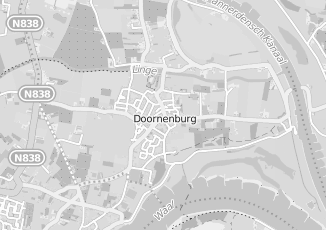 Kaartweergave van Beijer in Doornenburg