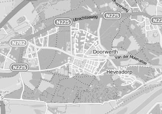 Kaartweergave van Derksen in Doorwerth