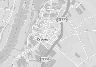 Kaartweergave van Bouwmarkt in Dreumel