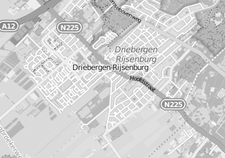 Kaartweergave van Bakker in Driebergen Rijsenburg