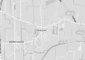 Kaartweergave van Kapsalon in Driesum