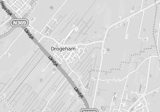 Kaartweergave van Hoeksma in Drogeham