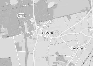 Kaartweergave van Beijering in Drouwen