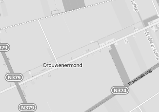 Kaartweergave van Kringloopwinkel in Drouwenermond