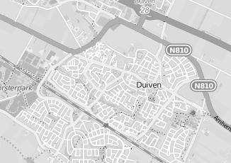 Kaartweergave van Bosveld in Duiven