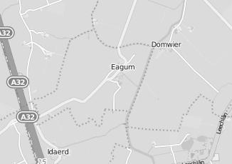 Kaartweergave van Milieustraat in Eagum