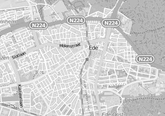 Kaartweergave van Rijswijk in Ede