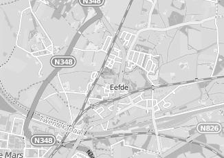 Kaartweergave van Bloemendaal in Eefde