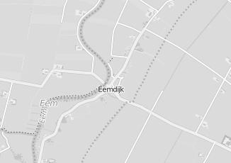 Kaartweergave van Karwei in Eemdijk