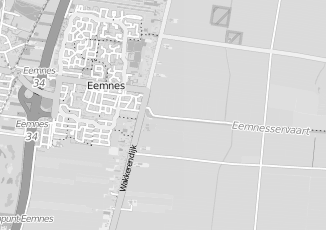 Kaartweergave van Bouma in Eemnes