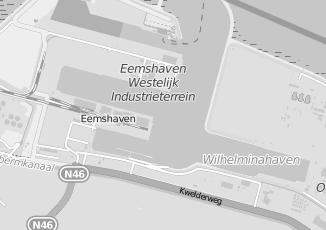 Kaartweergave van Schadeherstel in Eemshaven