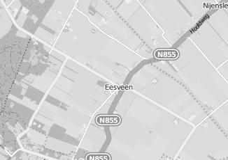 Kaartweergave van Slager in Eesveen