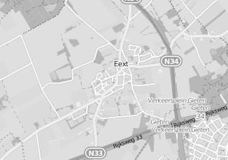 Kaartweergave van Braams in Eext