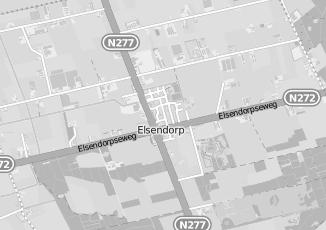 Kaartweergave van Van den boomen in Elsendorp
