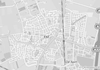 Kaartweergave van Aalst in Elst Gelderland