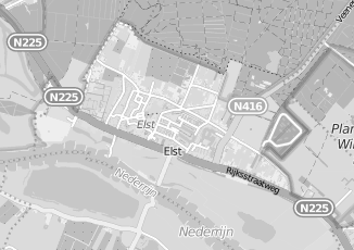 Kaartweergave van C1000 in Elst Utrecht