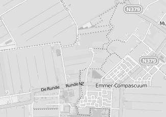 Kaartweergave van Robben in Emmer Compascuum