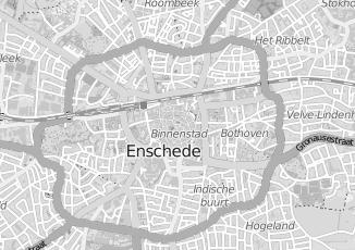 Kaartweergave van Oord in Enschede