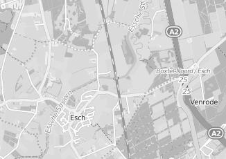 Kaartweergave van Rutten in Esch