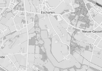 Kaartweergave van Berkel in Escharen