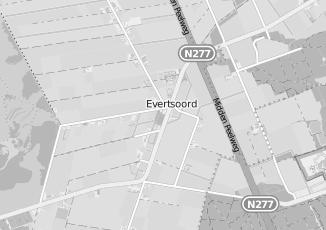 Kaartweergave van Huub hendrix in Evertsoord