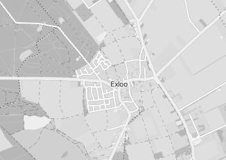 Kaartweergave van Oosting in Exloo