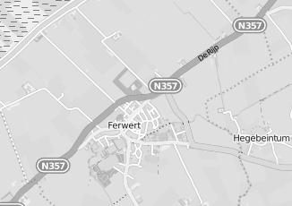 Kaartweergave van Reitsma in Ferwert