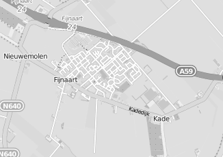 Kaartweergave van Jansen in Fijnaart
