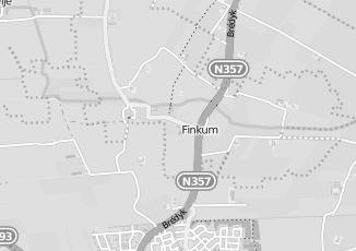 Kaartweergave van Verloskundige in Finkum