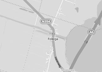 Kaartweergave van Bank in Follega