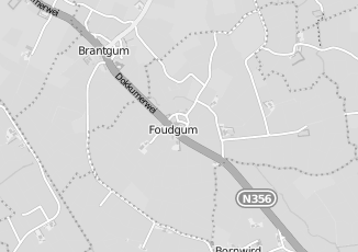 Kaartweergave van Groothandel in bouwmateriaal in Foudgum