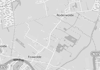 Kaartweergave van Attent in Foxwolde