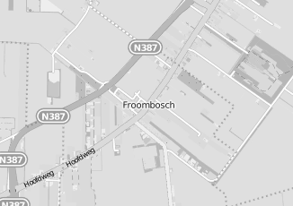 Kaartweergave van Groothandel in meubels in Froombosch