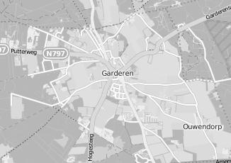 Kaartweergave van Parken in Garderen