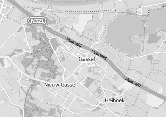 Kaartweergave van Thijssen in Gassel