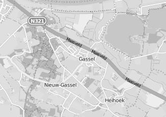 Kaartweergave van Taxi in Gassel