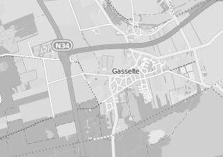 Kaartweergave van Zorgboerderij in Gasselte