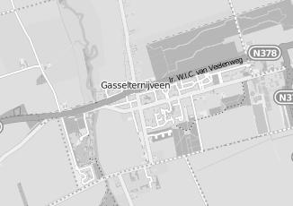 Kaartweergave van Utiliteitsbouw in Gasselternijveen