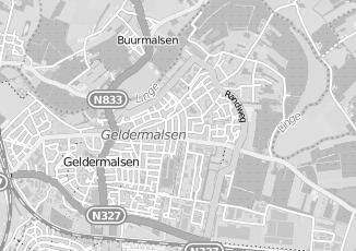 Kaartweergave van Lang in Geldermalsen