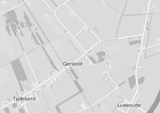 Kaartweergave van Elsinga in Gersloot