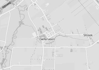 Kaartweergave van Huishoudelijke hulp in Gieterveen