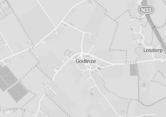 Kaartweergave van Hotel in Godlinze