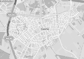 Kaartweergave van Bruin in Goirle