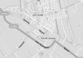 Kaartweergave van Huisman in Gorredijk